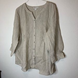 Coldwater Creek 2X Blouse